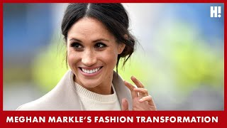 EXCLUSIVE: Meghan Markle's Fashion Transformation | Hello