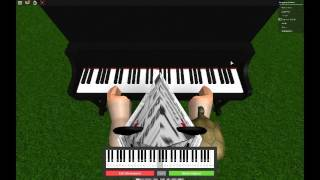 Ode To Joy On Roblox Piano