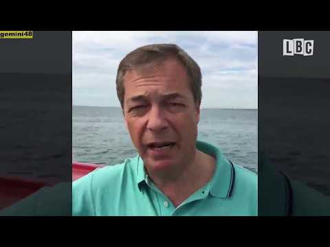 Discarding Fish Due To Quotas - LBC's Fishing Trip With Nigel Farage