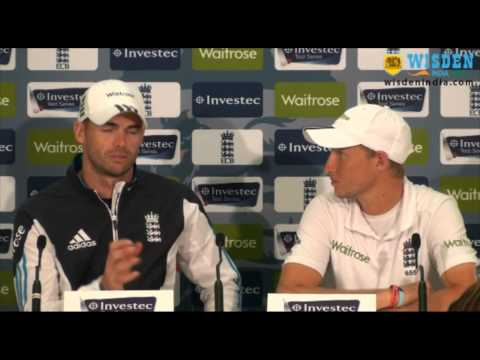 Joe Root, James Anderson Press Conference
