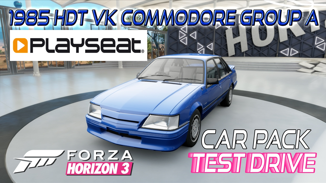 1985 hdt vk commodore group a forza horizon 3. Black Bedroom Furniture Sets. Home Design Ideas