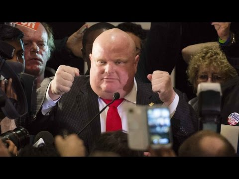 Toronto election: Rob Ford hints at Ford family candidacy in 2018 election
