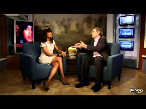 Popcorn Karaoke Kerry Washington Sings Showtune