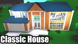 Classic Family House! Roblox - BloxBurg (134K)