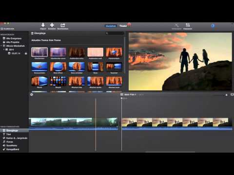 IMovie Tutorial Film schneiden und wieder zusammen fügen
