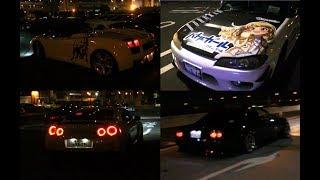 深夜の走り屋たち・・・大黒PAと辰巳で改造車撮ってきました!