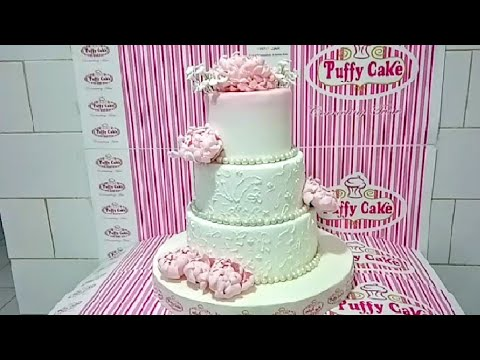 """wedding-cakes""-with-pink-peonies-fondant-design-ideas"