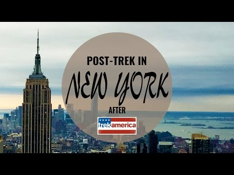 P12 | TREK AMERICA | SOUTHERN BLT | POST TOUR IN NEW YORK