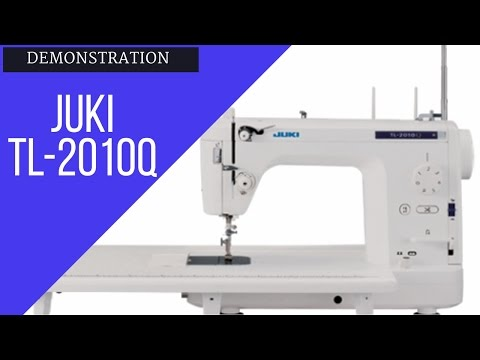 Juki TL-2010Q: Review and Demonstration of Features