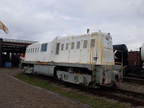 Whitcomb (NS 2000) locomotief - 360 graden rondom de locomotief