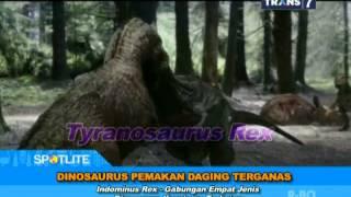 SPOTLITE - Dinosaurus Pemakan Daging Terganas