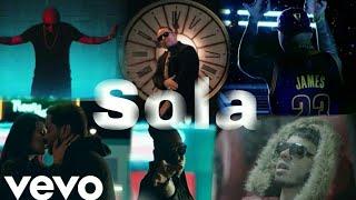 Anuel Aa Ft Daddy Yankee ,wisin ,farruko Y Zion Y Lennox- Sola