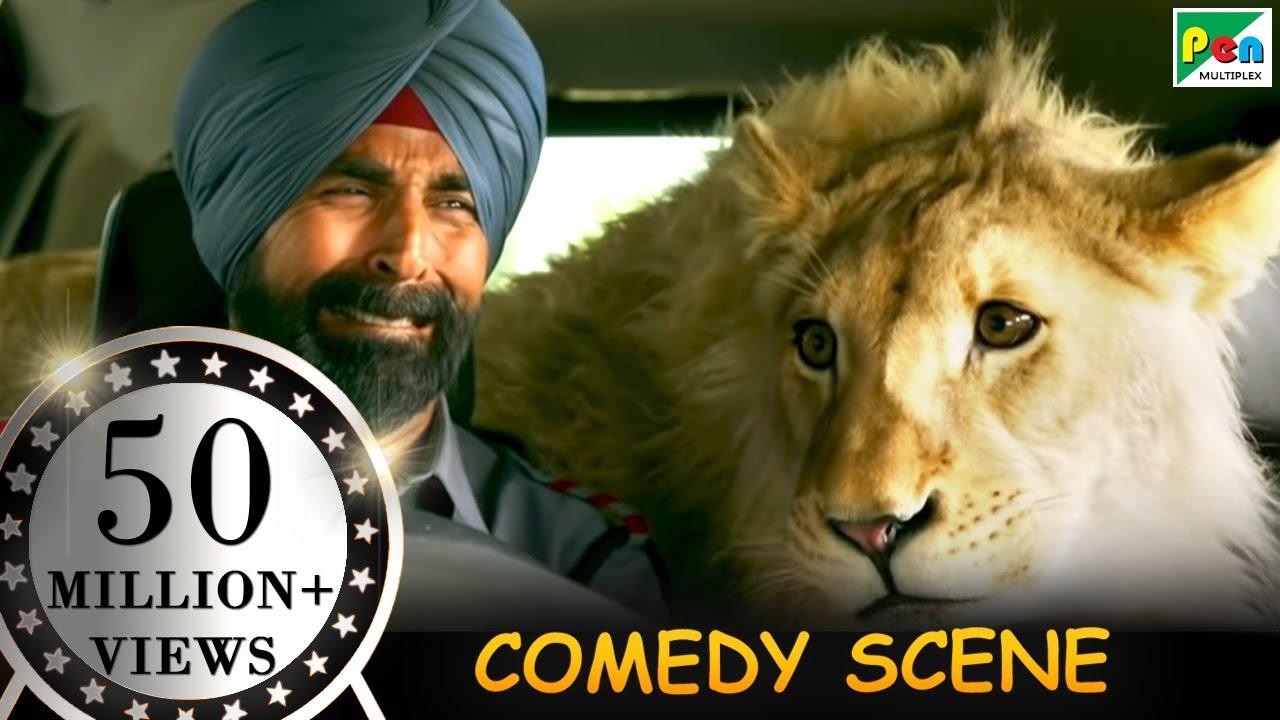 Download अक्षय कुमार और शेर - Funny Scene | Singh Is Bliing | Amy Jackson, Lara Dutta, Prabhu Deva