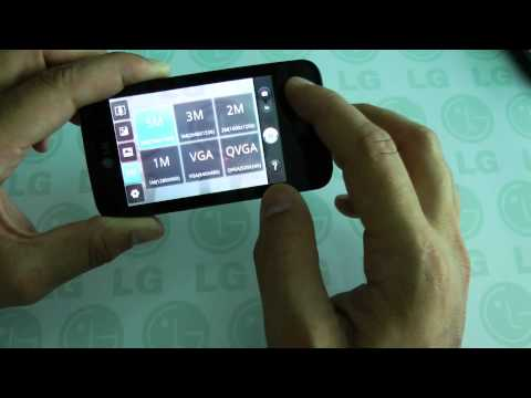 LG Optimus HUB E510 video preview By HDBLOG