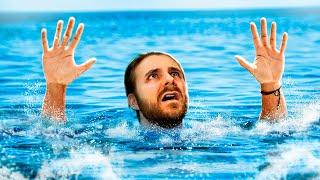 iRafael se Îneaca in Ocean !