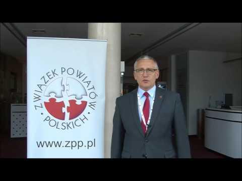 Krzysztof Maćkiewicz, Starosta Wąbrzeski podczas XXII Zgromadzenia Ogólnego ZPP