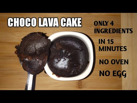 Oreo Biscuit Choco Lava Cup Cake Without Egg & Oven | Easy ...