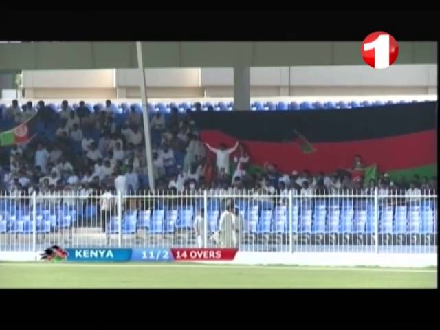 04.10.2013 ODI Cricket match Afghanistan vs Kenya Sharjah Part 2 Travel Video