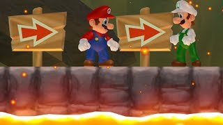 Another Super Mario Bros Wii - 2 Player Co-Op - #20