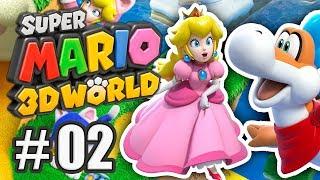 Chessie trifft Plessie! | #02 | Super Mario 3D World