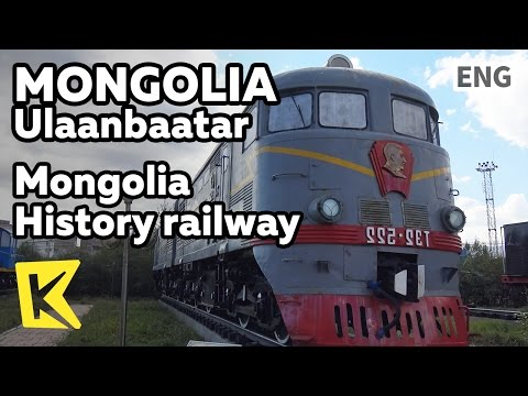 【K】Mongolia Travel-Ulaanbaatar[몽골 여행-울란바토르]몽골의 철도 역사/History railway/Museum/Train