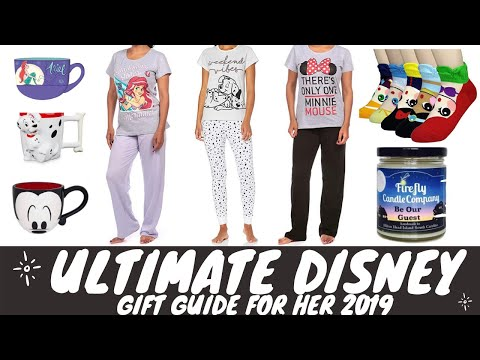ULTIMATE DISNEY GIFT GUIDE ON A BUDGET FOR HER 2019 | DISNEY VERRY MERRY CHRISTMAS GIFTS