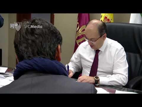 Firma Vincenzo Montella 30/12/17. Sevilla FC