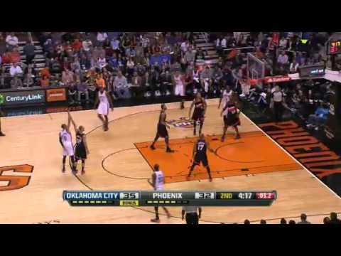 Oklahoma City Thunder vs Phoenix Suns - February 10, 2013
