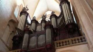 Vierne : Allegro Maestoso, 3eme symphonie, St-Sernin, Toulouse