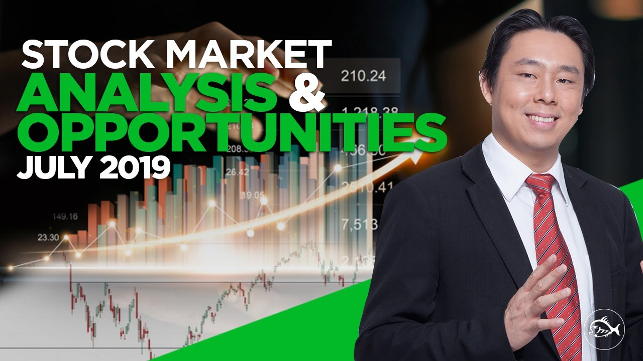 Stock Market Analysis and Opportunities 2019 July