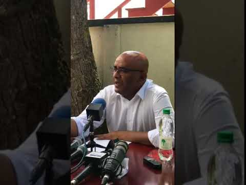 Press Conference by Opposition Leader Dr Bharrat Jagdeo March 16th 2018