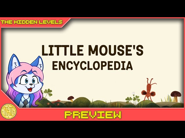 Little Mouse's Encyclopedia - Woodlice nomming (Xbox Series S|X Gameplay)