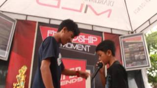 ARI GRT vs MAHALI GRT Friendship Moment 2014 Beatbox Battle Chionship BIG 8