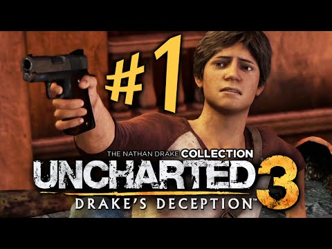 Uncharted 3: Drake's Deception - Parte 1: Nathan Moleque! [ Playstation 4 - Playthrough PT-BR ]