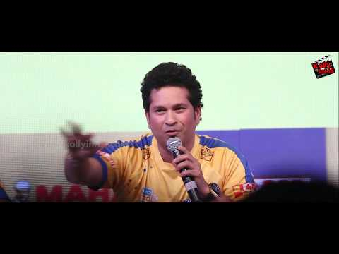 Dhoni will be in my Dream Team | Sachin  Open Talk | Tamil Thalaivas jersey launch