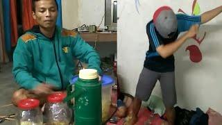 Gendang toples vs temon holic. | cover via vallen | ngenteni ati.