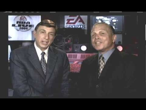 NBA Live 2004 Marv Albert's and Mike Fratello's cameo Intro