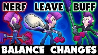 The Brawl Stars Balance Changes I