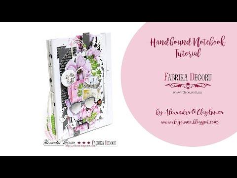 Especially for Her - DIY Handbound Notebook - Tutorial