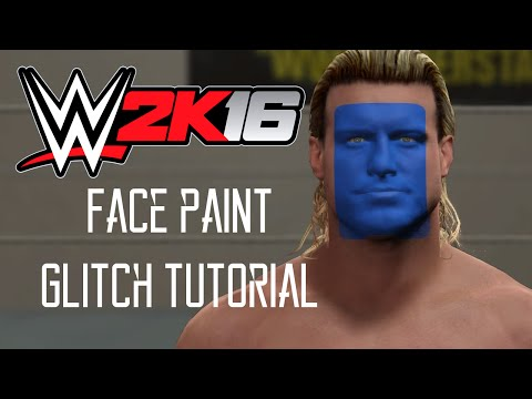 WWE 2K16: Face Paint Glitch Tutorial