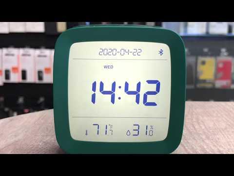 Будильник Xiaomi Qingping Bluetooth Smart Alarm Clock. Краткий обзор. Классный гаджет!