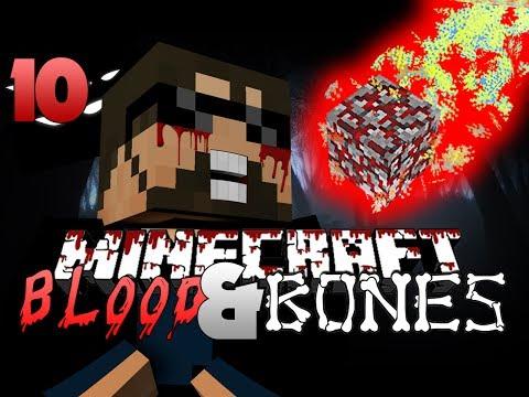 Minecraft FTB Blood and Bones 10 - Meteors OP (Minecraft Mod Survival FTB)