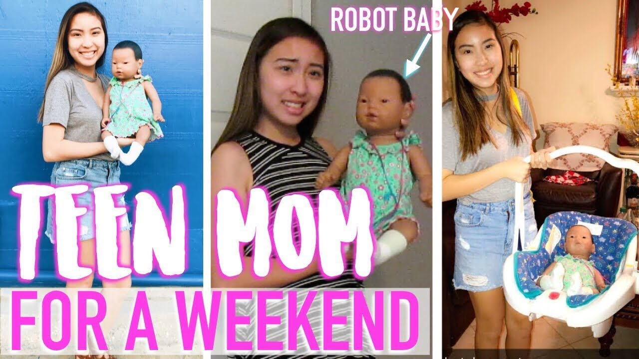 TAKING CARE OF A ROBOT BABY // BABY THINK IT OVER VLOG