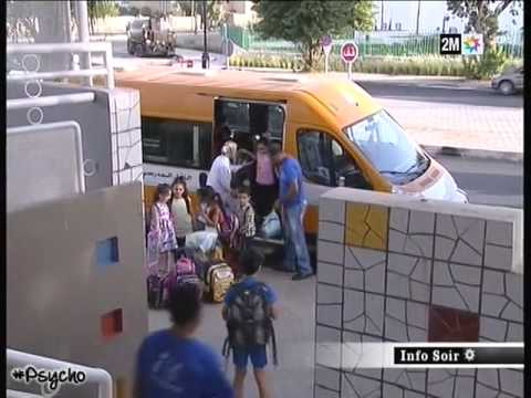transport scolaire au maroc youtube. Black Bedroom Furniture Sets. Home Design Ideas