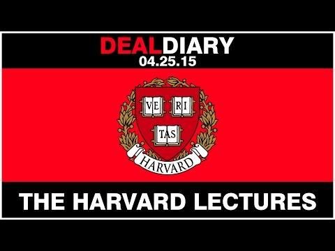 Matt Skinner : The DealMaker Lectures at Harvard University