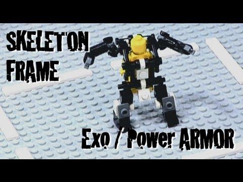 How To Build Lego Exoskeleton Youtube