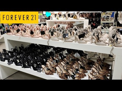 FOREVER 21 * SHOES * SHOP WITH ME 2019