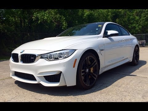 2015/2016 BMW M4 Coupe Exhaust, Start Up, Test Drive and In Depth Review