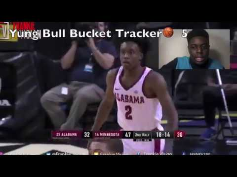 e716c5828 Collin Sexton 40 point😱 takeover 3 on 5 craziest game in history! 🐂 BULL  MODE -Reaction