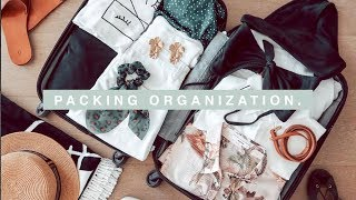 Packing Organization - HOLIDAY Pack With Me Organisation Tips